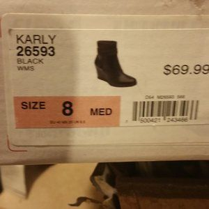 FLEXIS Shoes - Flexis All Leather BOOTIES WITH NEW WITH BOX